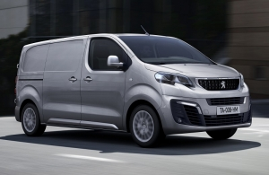 The new Peugeot Expert launched at CV Show