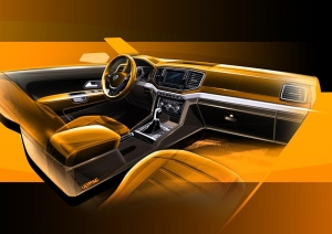 Bold lines and premium style for new Amarok interior