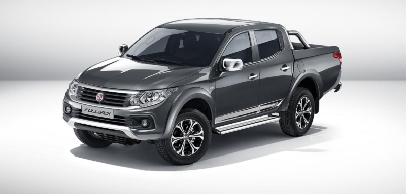 Fiat Professional Fullback - Fiat's first pickup makes debut at CV Show