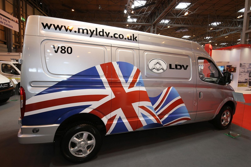 LDV returns to UK market among new launches at the CV Show 2016