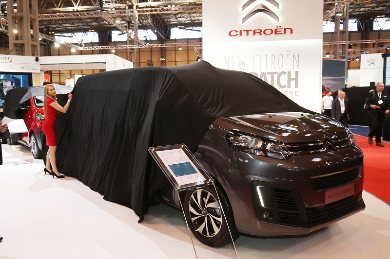 Revealing the Citroen Dispatch