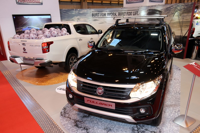 Fiat's first pick-up the Fullback kicks off with a football theme for launch at the CV Show 2016