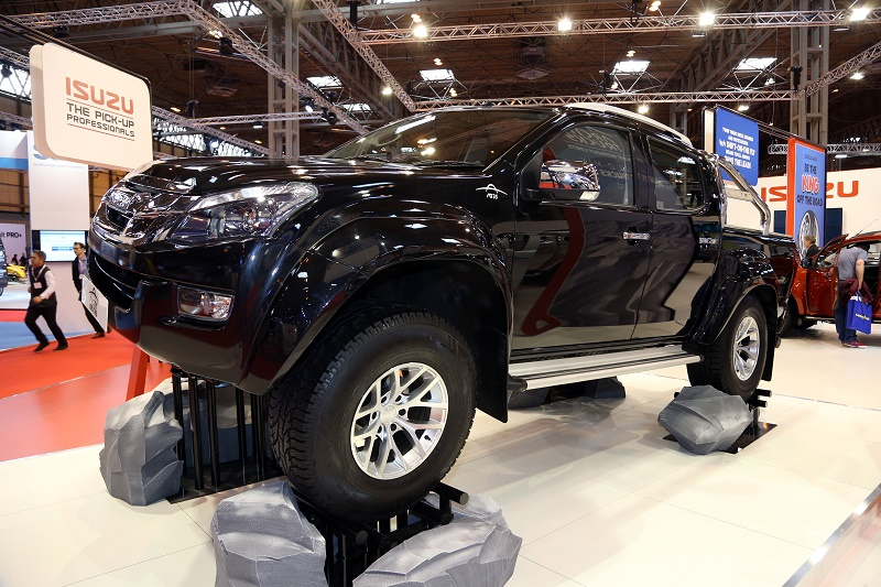 Isuzu among new launches at CV Show 2016