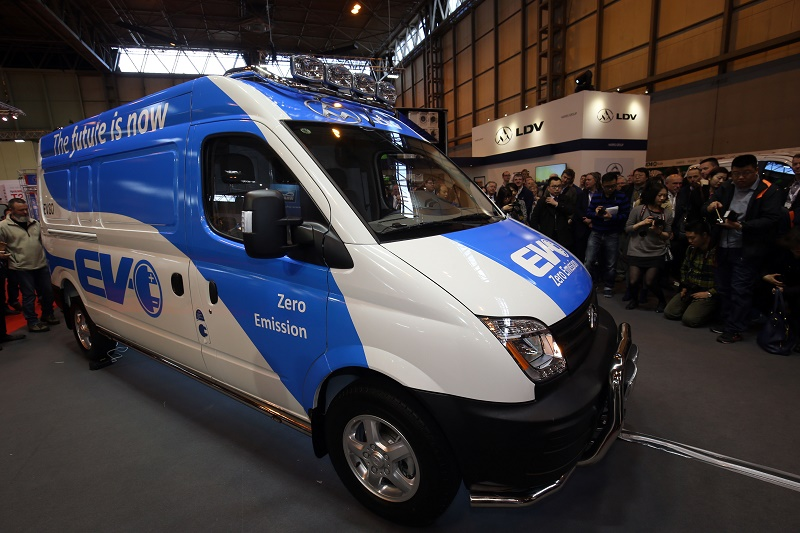 LDV EV80 among new launches at CV Show 2016