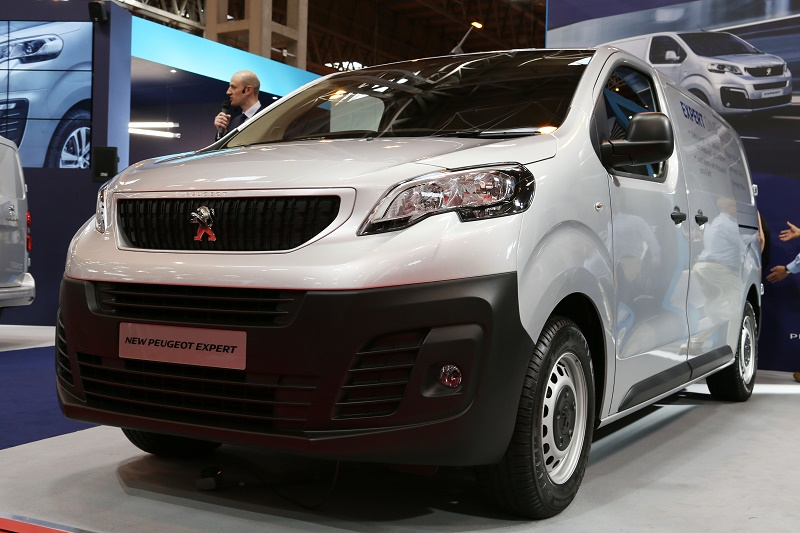Peugeot Expert among new launches at CV Show 2016