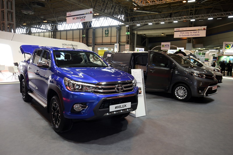 Toyota HiLux among new launches at CV Show 2016