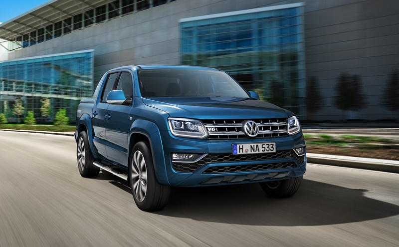 120mph new Volkswagen Amarok arriving in the UK this year