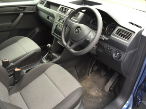 The cabin Volkswagen Caddy 2.0 TDI Trendline