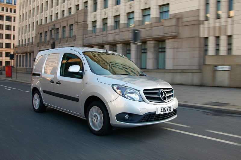 Mercedes Citan 5 lowest CO2 vans