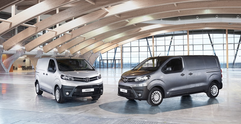 New Proace vans now come with Toyota 5-year warranty