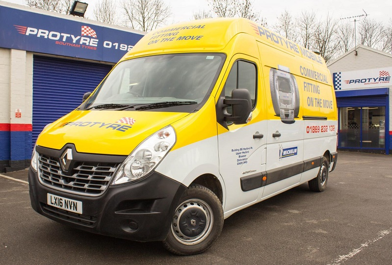 Wholesale deliveries to its Protyre centres after after Micheldever Tyres buys 100 Renault Master vans