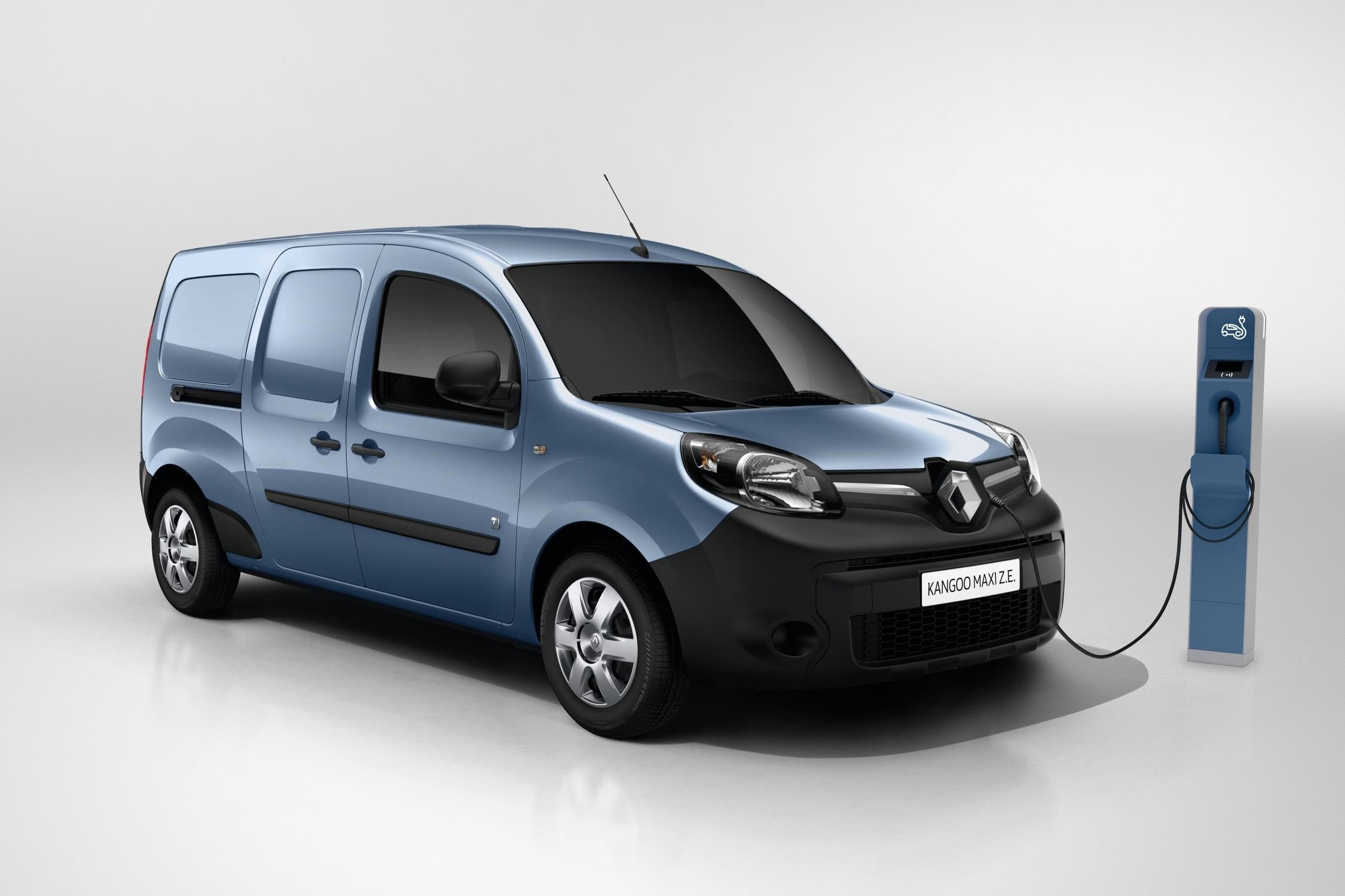 The all-electric Kangoo ZE - 5 low CO2 vans