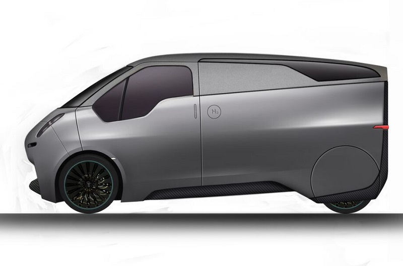 The Riversimple hydrogen van concept