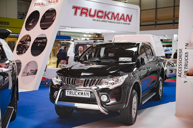 Truckman's new pick-up hardtops a hit at show