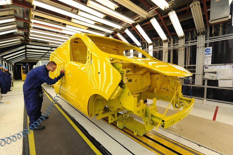 The RoSPA award-winning production line for which the Vauxhall plant strikes gold for safety