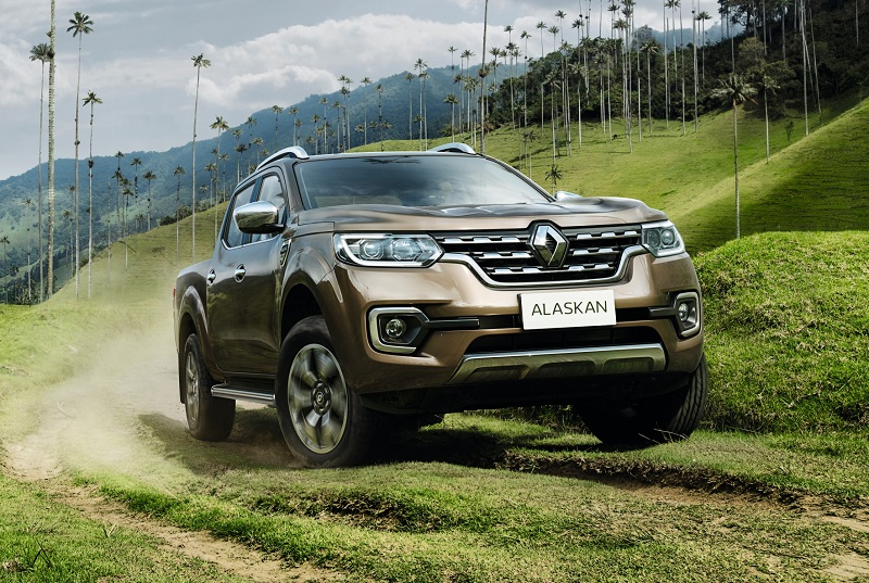 The new Renault Alaskan global one-tonne pick-up
