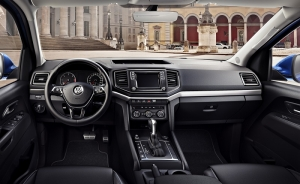 The 120mph new Volkswagen Amarok's car-like cabin
