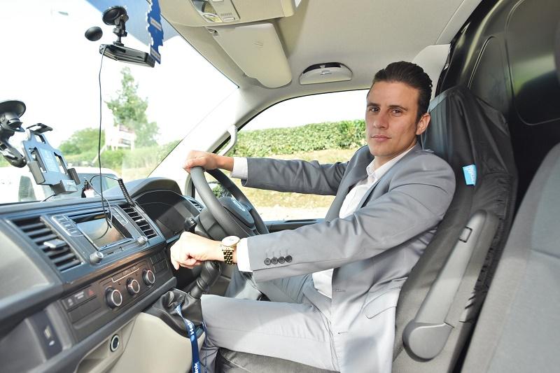 VW Transporters as plumber's mates