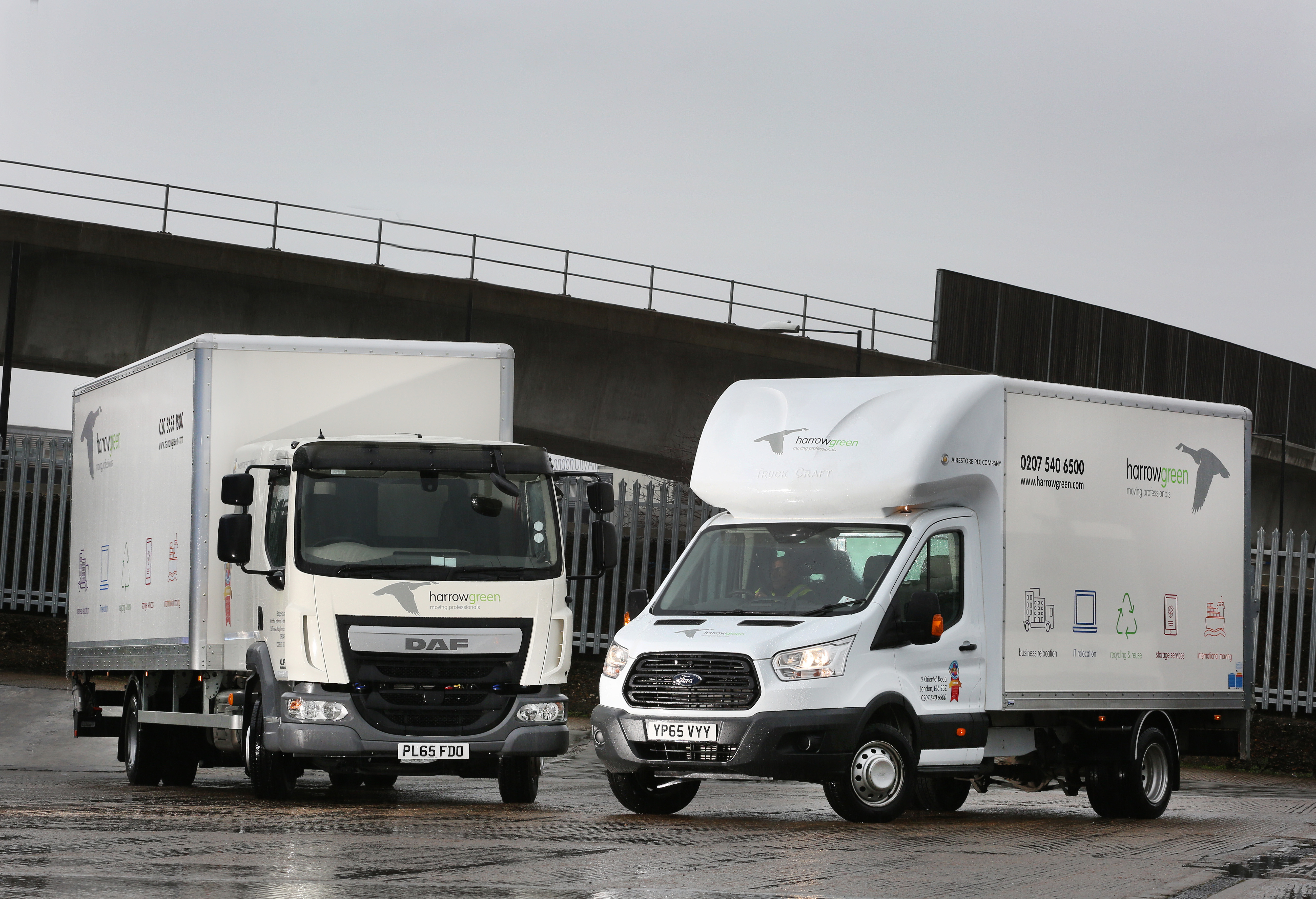 Asset Alliance 40-vehicle contract hire deal included three 12-tonne DAF LF180s and 22 Ford Transits as part of the full service contract hire deal.