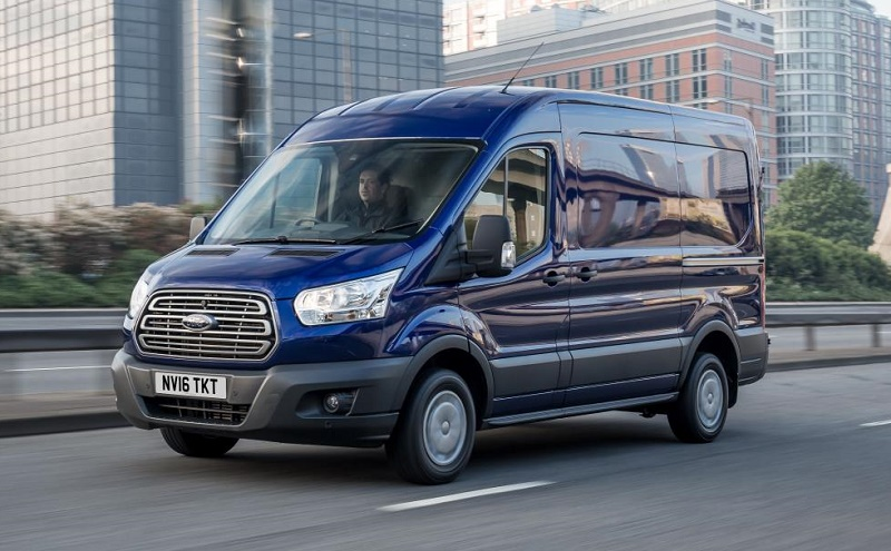 New Ford Transit and Ford Transit Custom are the number 1 and 2 best-selling CVs in the UK