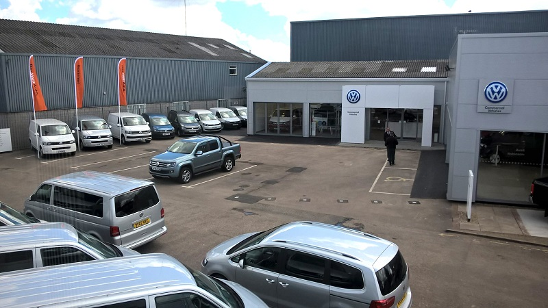 Doubled in size - Robinsons Van Centre in Norwich as Volkswagen Van Centre network grows to 98 outlets