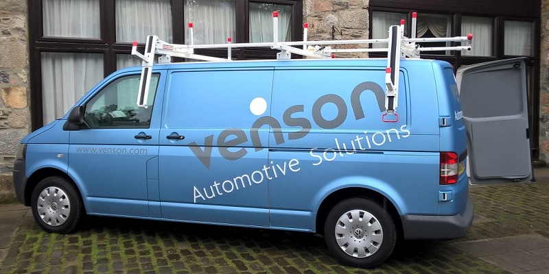 Venson's new van roof system