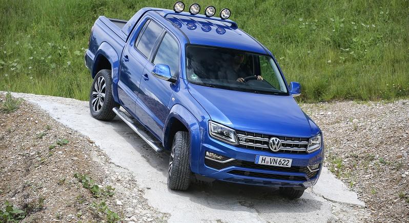 New VW Amarok Aventura
