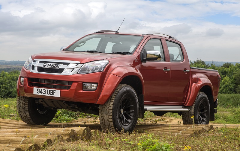 Isuzu D Max Arctic Trucks At35 Review Business Vans