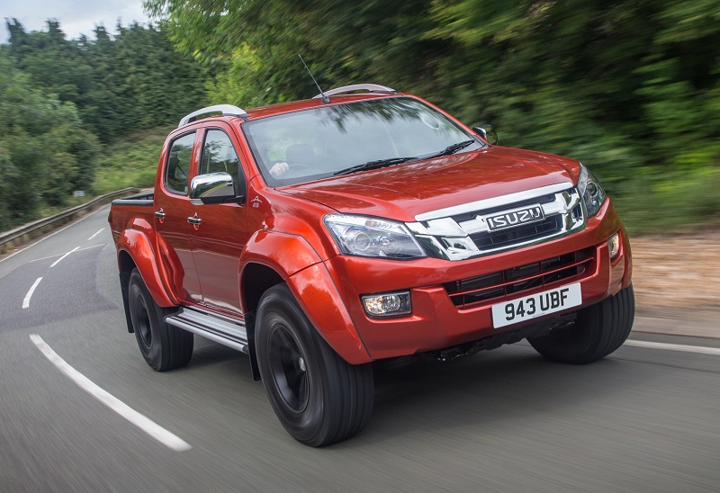 isuzu d max arctic trucks at35 review business vans. Black Bedroom Furniture Sets. Home Design Ideas
