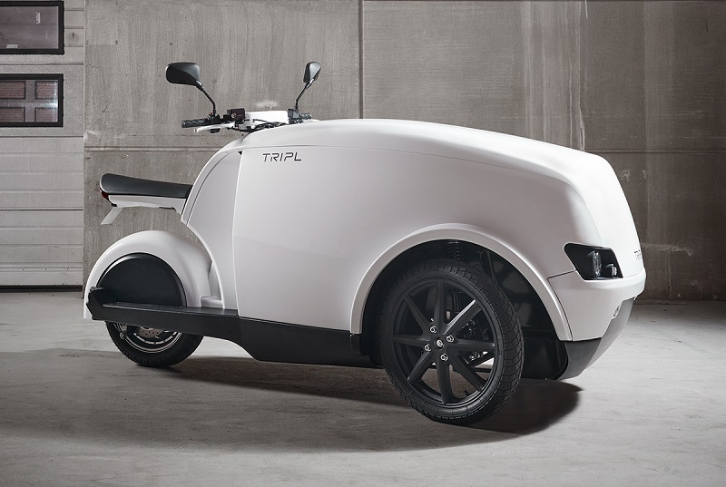 Trefor TRIPL eletric delivery trike is coming to Britain