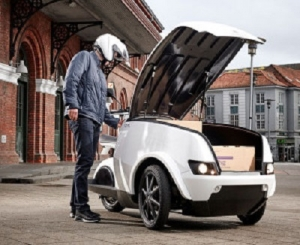 Trefor TRIPL electric delivery trike