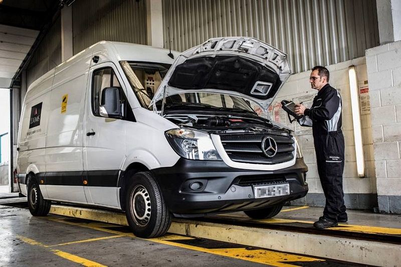 Loomis locking into mercedes service contracts business vans for Mercedes benz service contract