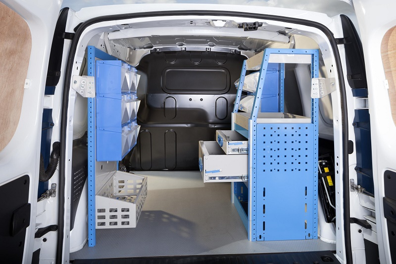 Renault Kangoo with Ready4Work racking from Bri-Stor