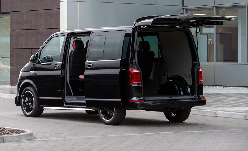vw launches transporter kombi sportline business vans. Black Bedroom Furniture Sets. Home Design Ideas