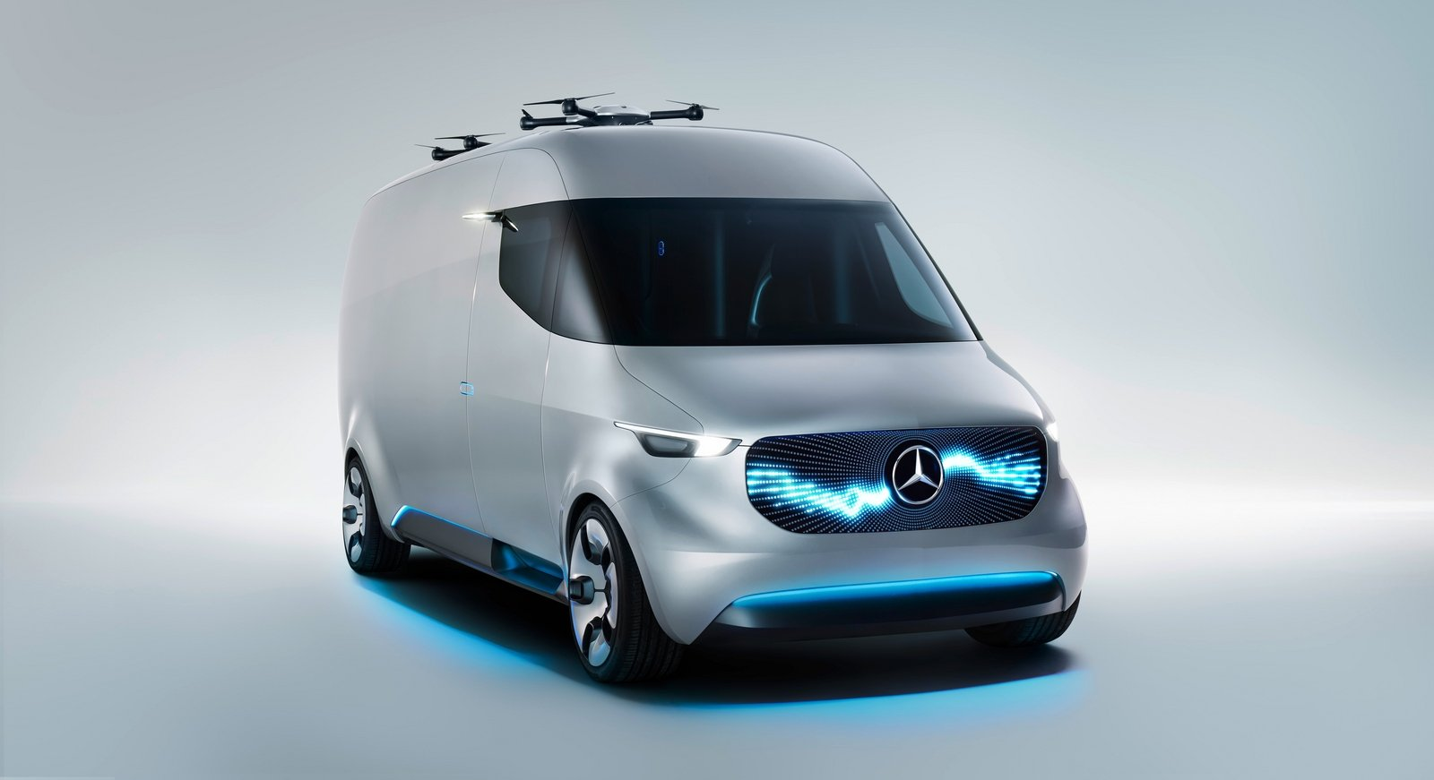 Vanguard of Mercedes future