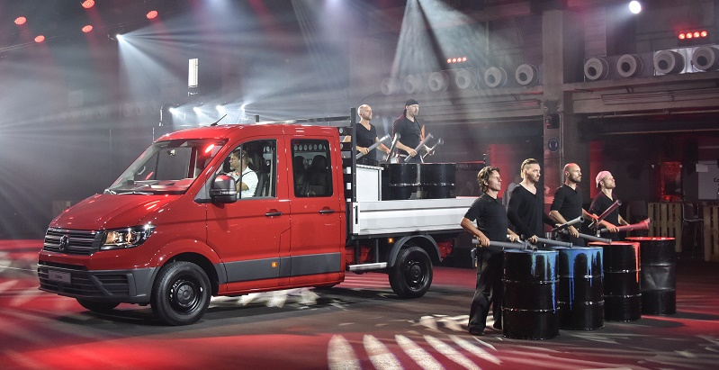 Sleek all-new VW Crafter