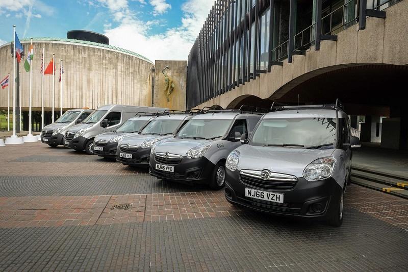 105 Vauxhall vans