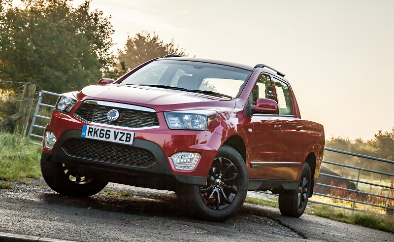 SsangYong Musso 2.2D EX 4WD Auto: Comprehensive revamp with Euro 6