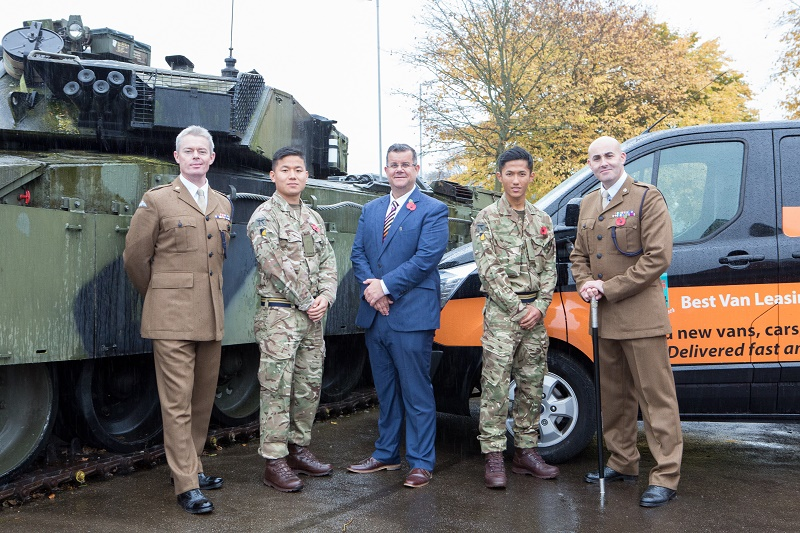 Vanarama's Business in a Box helps ex-military