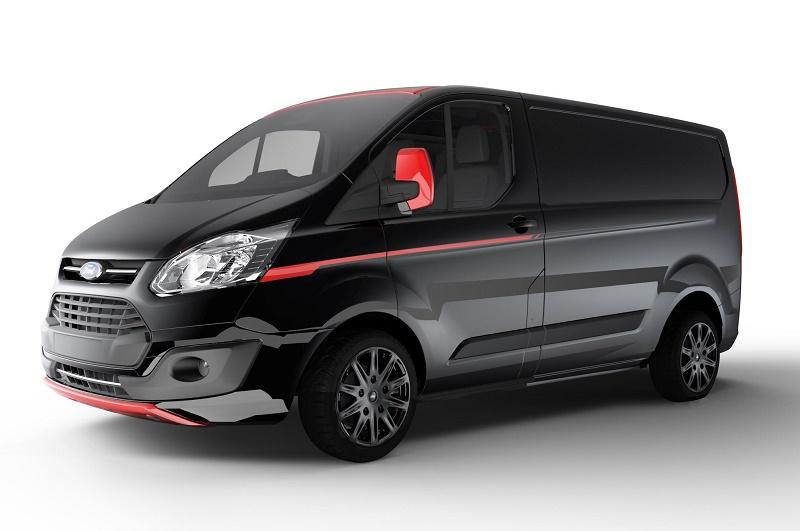 8769c512a8a6ea Ford Transit Custom Black Edition Absolute Black