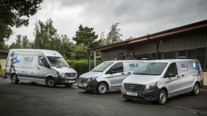 NRS vans: backed by maintenance agreement