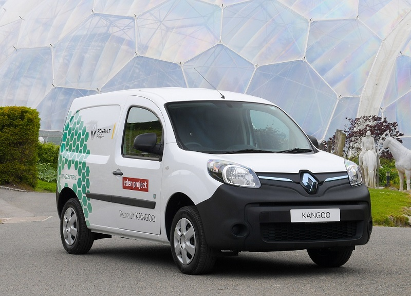 renault kangoo ze is best green van business vans. Black Bedroom Furniture Sets. Home Design Ideas