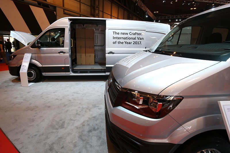 debut for new Volkswagen Crafter