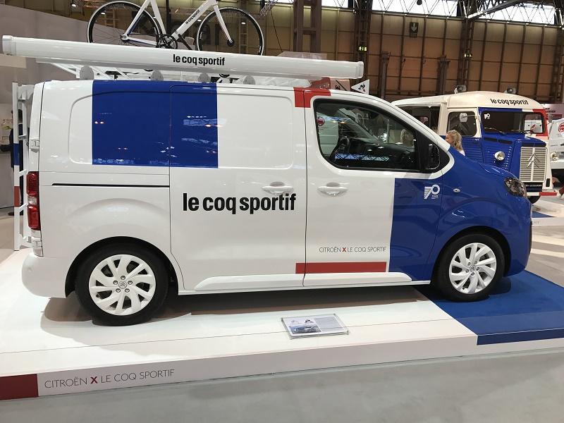 Citroen celebrates 70 years of Type H van
