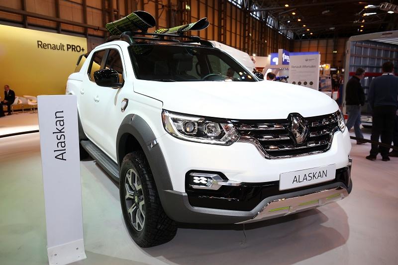 2018 renault alaskan. Simple 2018 Renault Alaskan  UK Deliveries Expected Early 2018 In Renault Alaskan E