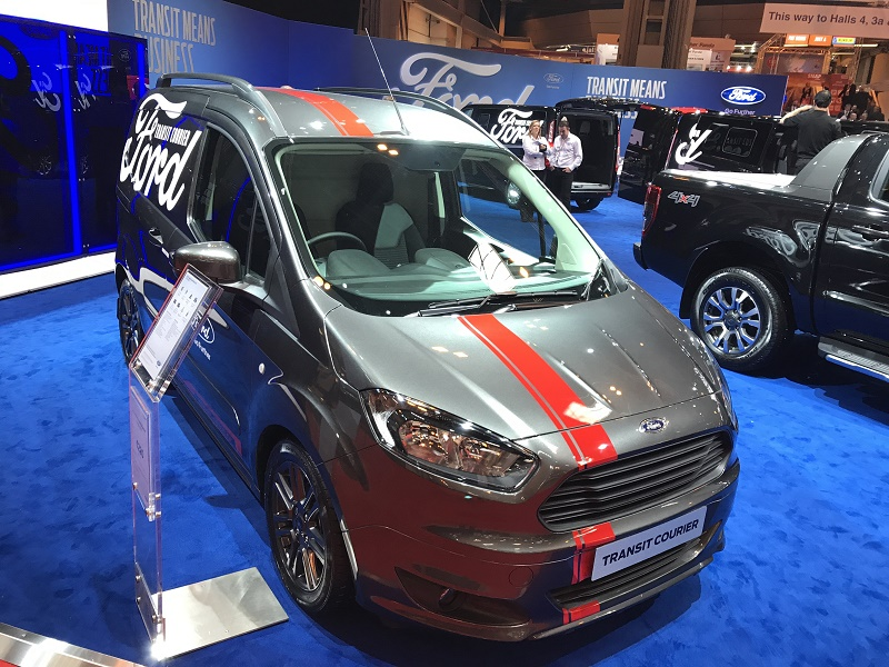 ford transit courier sport launched