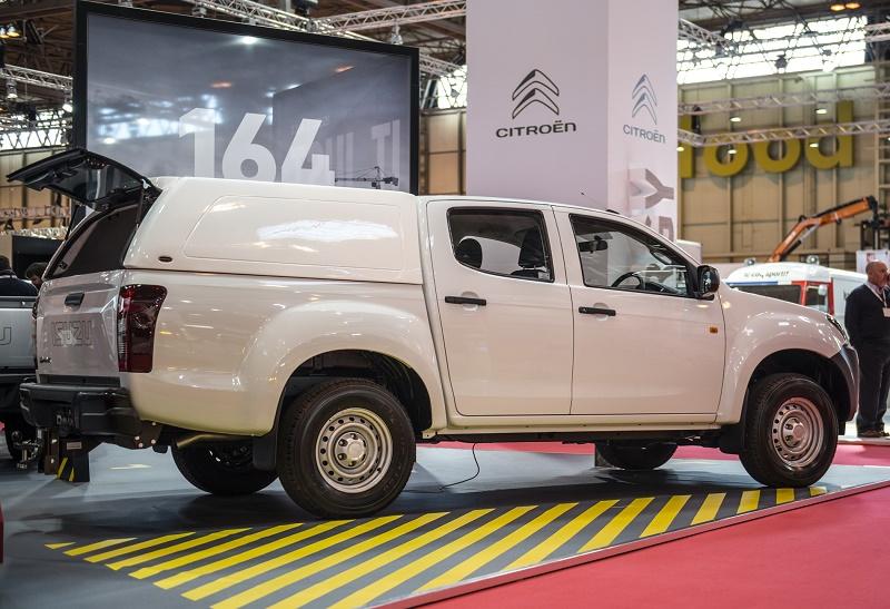 New Truckman Hardtops For Isuzu D Max Business Vans