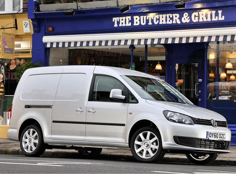 VW Caddy - Glass's Used Van Hero