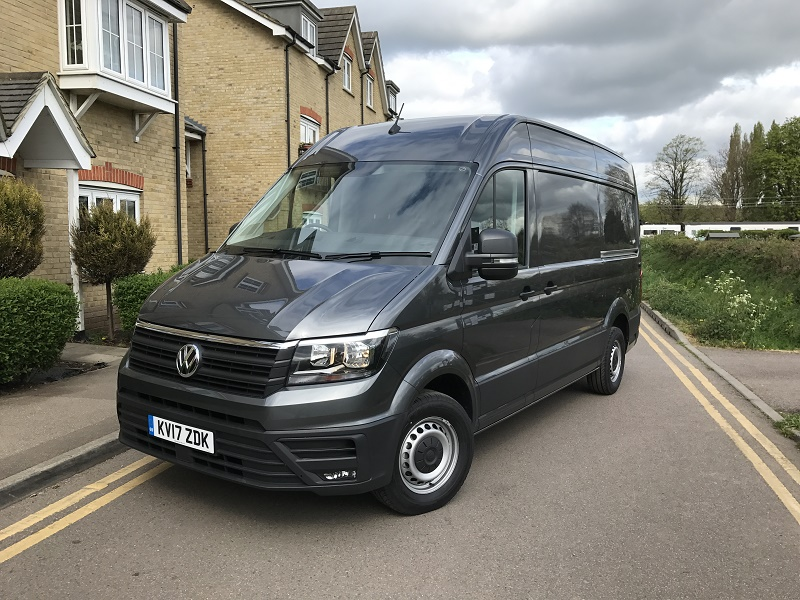 vw crafter trendline cr35 mwb 2 0 tdi review business vans. Black Bedroom Furniture Sets. Home Design Ideas