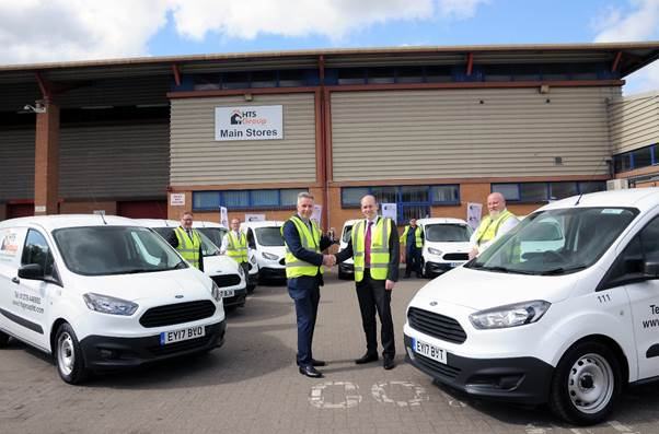 Property company leases 69 Ford vans